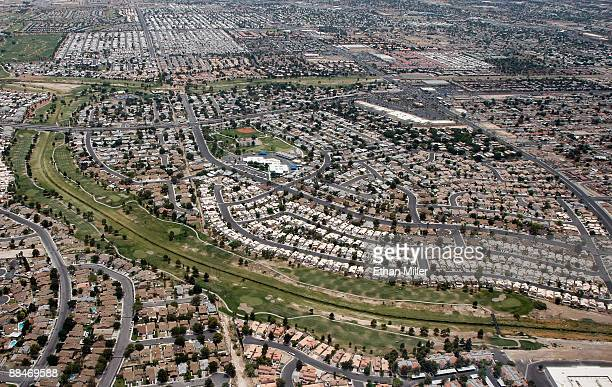 An aerial view of homes June 12, 2009 in Henderson, Nevada. A report by RealtyTrac Inc. Found that for the month of May, Nevada had the highest...