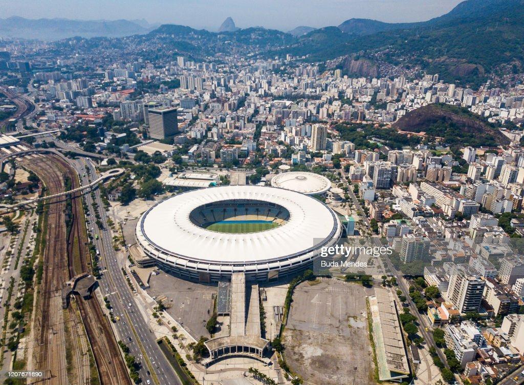 General Views of Rio de Janeiro as the Coronavirus (COVID - 19) Continues to Spread : News Photo