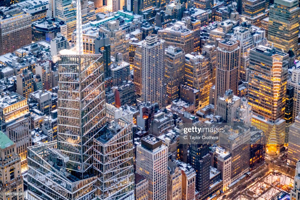 New York City Aerial Views : News Photo
