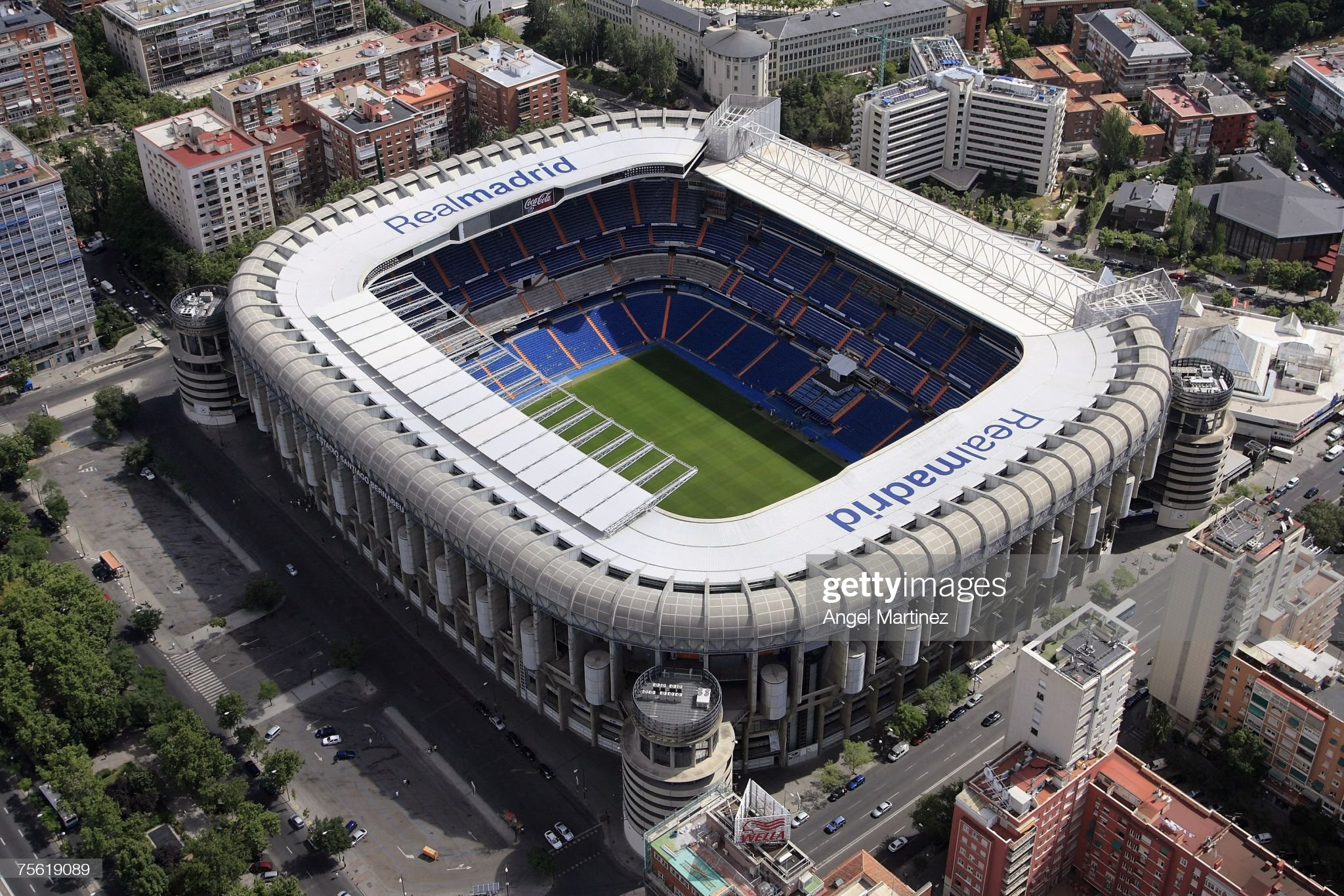 Real Madrid - The Stadium : ニュース写真