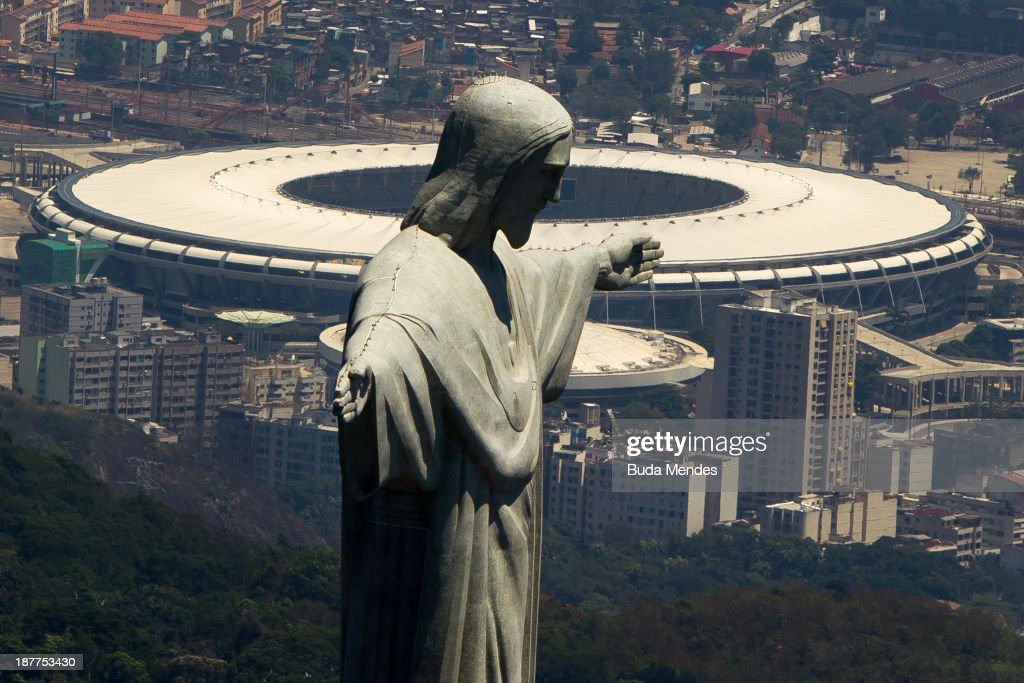 General Views of Maracana Stadium - FIFA World Cup Venues Brazil 2013 : News Photo