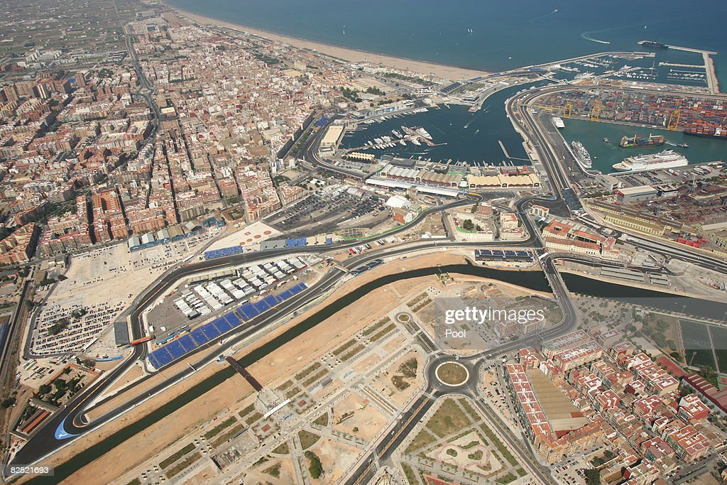 European Formula One Grand Prix: Practice : News Photo