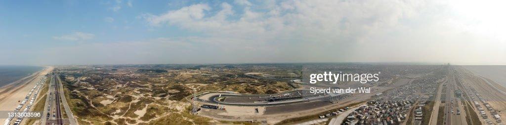 Views of the Circuit Zandvoort Race Track, Home of the Dutch Grand Prix : News Photo