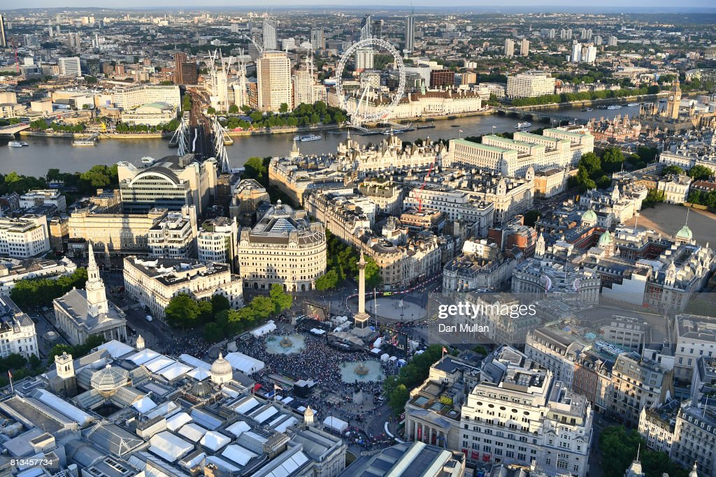 F1 Live In London Takes Over Trafalgar Square - Live Show : News Photo