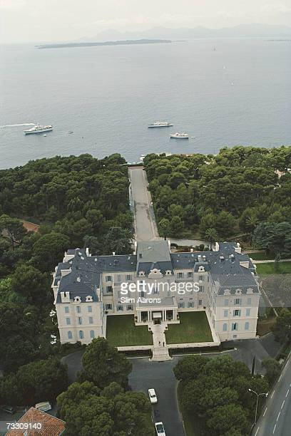 An aerial view of the Hotel du Cap EdenRoc Antibes France August 1976