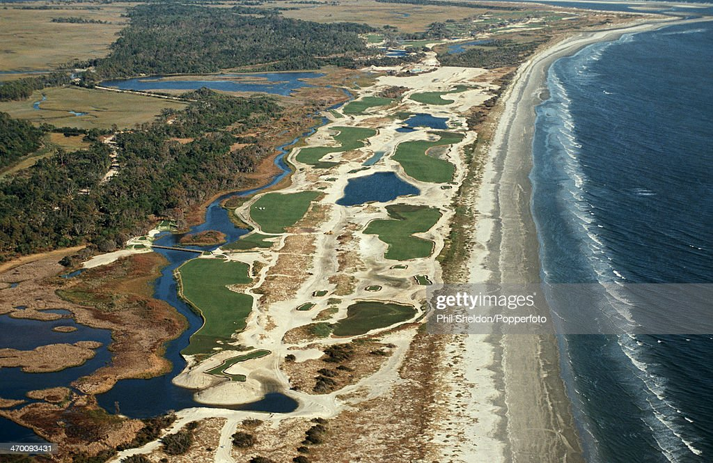 Aerial View Of The Kiawah Island Golf Resort : News Photo