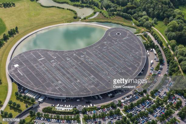 KINGDOM MAY 24 An aerial view of the McLaren Technology Centre on May 24 2017 in Woking England