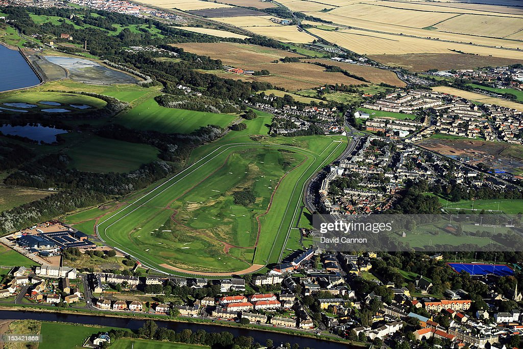 Musselburgh Old Links Musselburgh Race Course : News Photo