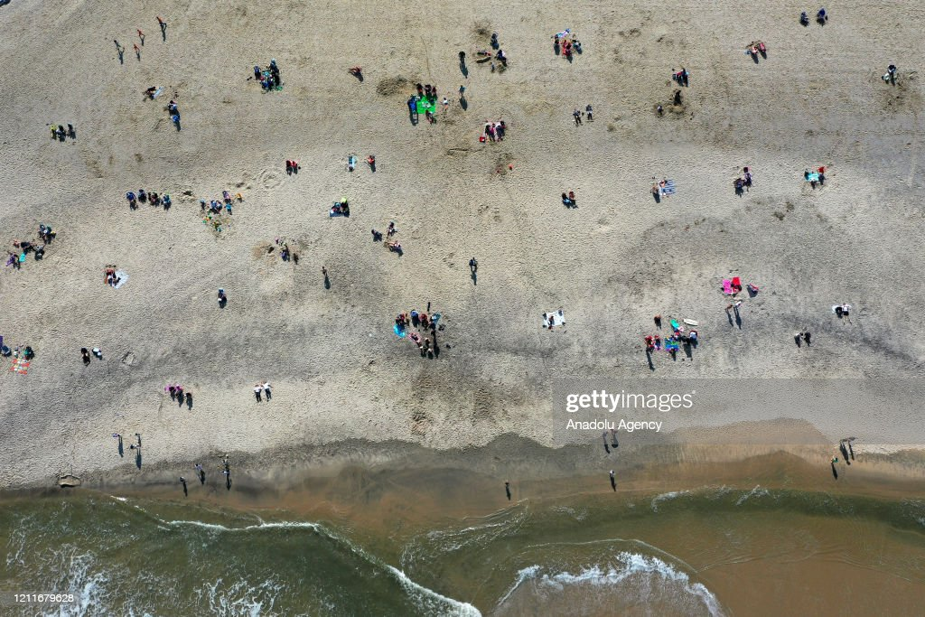 An Aerial View Of The Ocean Beach Where People Enjoy Warm Weather In News Photo Getty Images Everything you need to be ready to step out prepared. 2