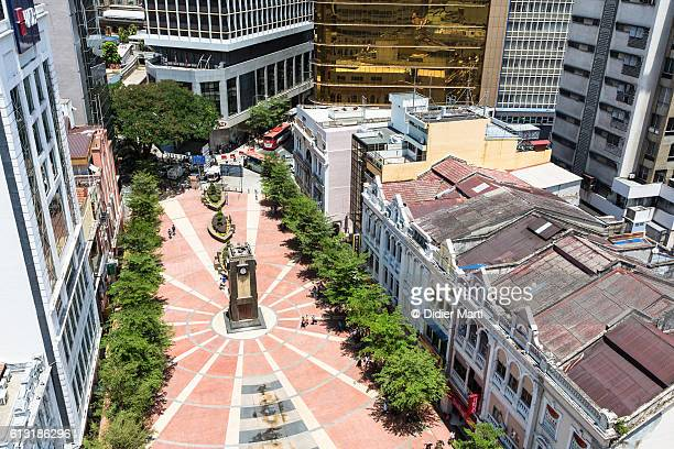 An aerial view of the old market square, in Kuala Lumpur, Malaysia capital city.