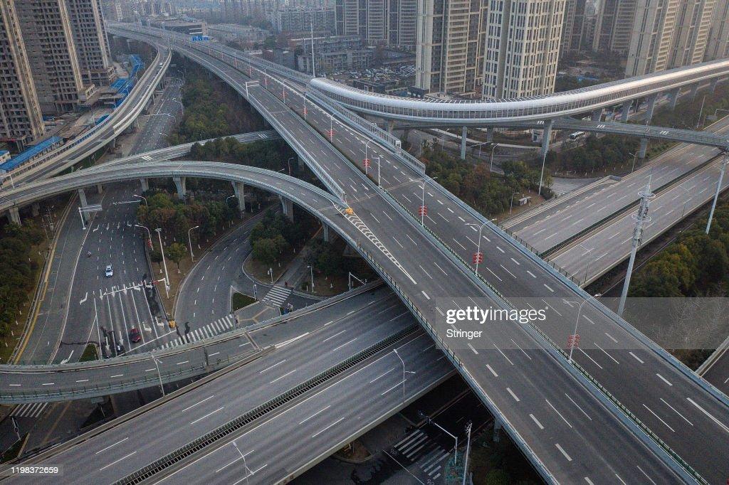 Daily Life In Wuhan During Lockdown : ニュース写真