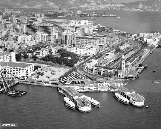 Гонконг, фото 1950-х годов.