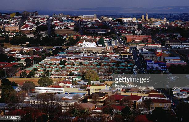 an aerial view of the suburb of kensington from yeoville - gauteng province stock pictures, royalty-free photos & images