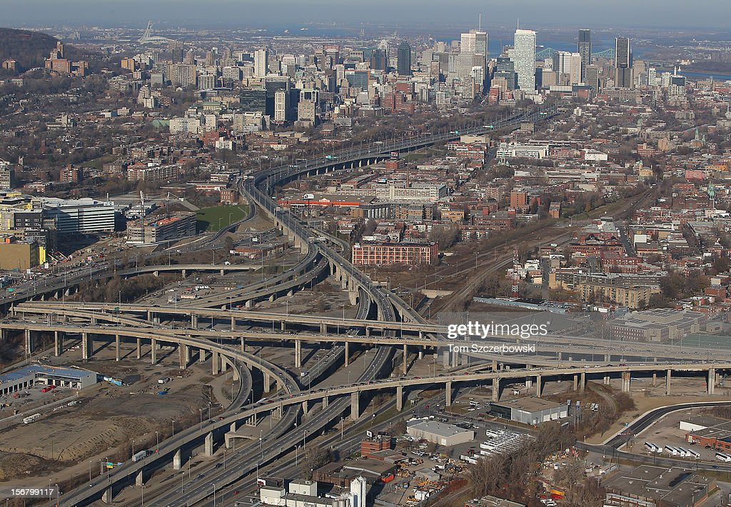 Aerial Views Of Montreal : News Photo