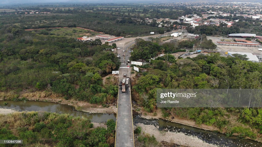 Colombian Border Towns See Influx Of Venezuelans Crossing Amid Country's Political Turmoil : News Photo
