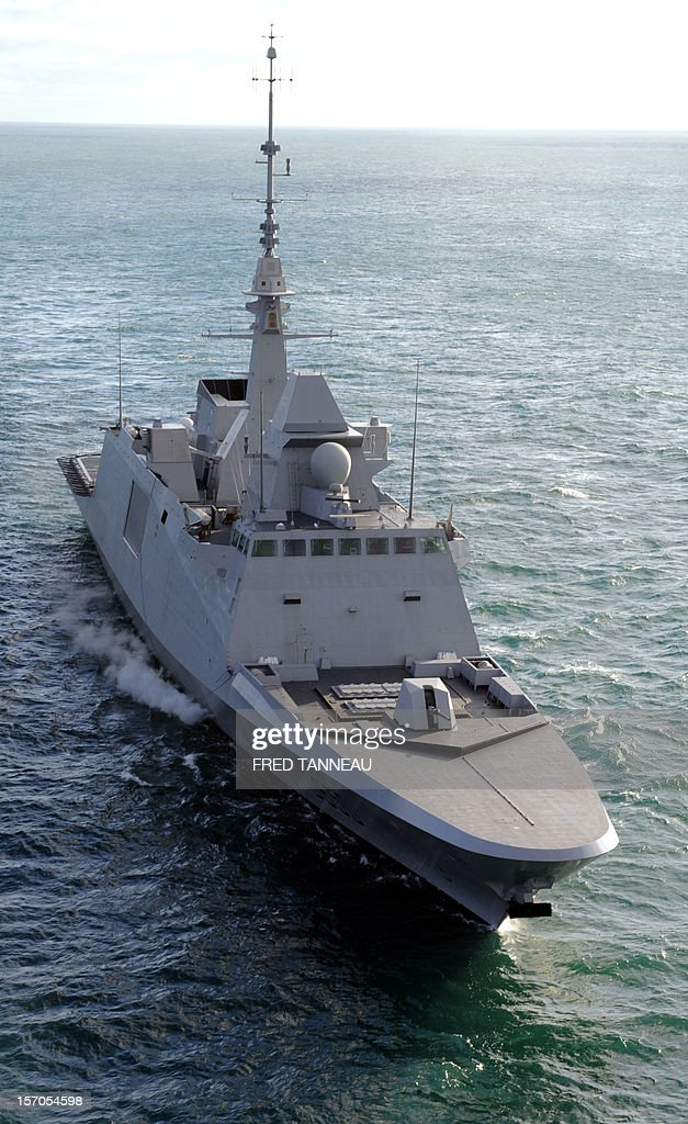 FRANCE-DEFENCE-NAVY-EXERCICE : News Photo