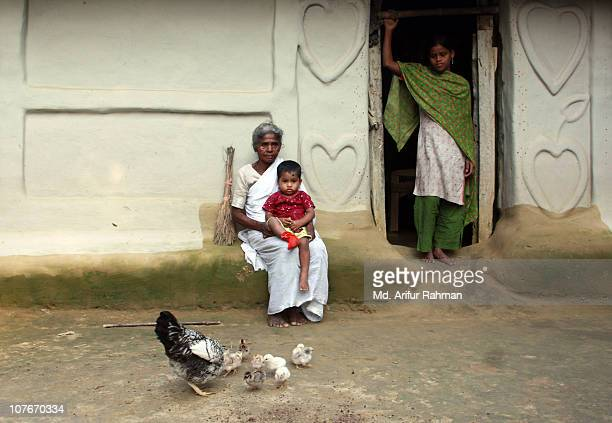 an affair of the heart - bangladesh village stock photos and pictures