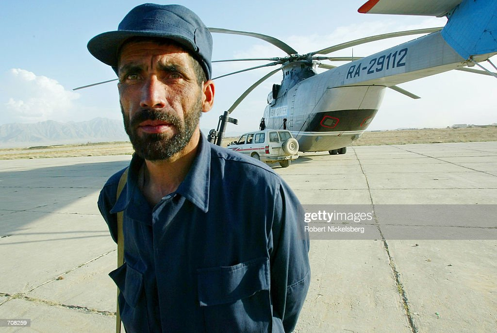 US. Army Uses Russian Helecopter in Afghanistan : News Photo