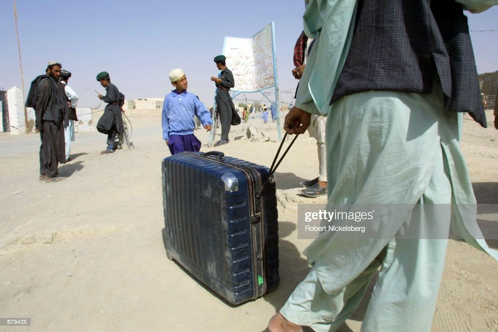 UNHCR Sets Up Refugee Camps in Pakistan : News Photo