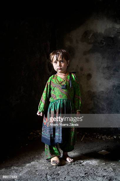 An Afghan girl called Kanda poses for a portrait These little girls are the future of Afghanistan however they don't have much hope and are still...