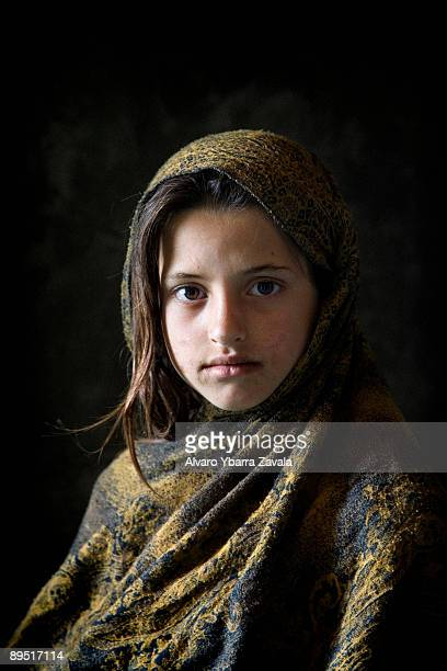 An Afghan girl called Roheda poses for a portrait These little girls are the future of Afghanistan however they don't have much hope and are still...