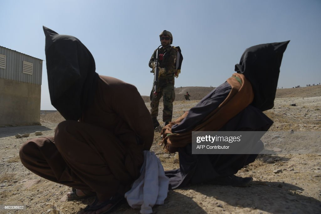 AFGHANISTAN-UNREST-MILITARY : News Photo