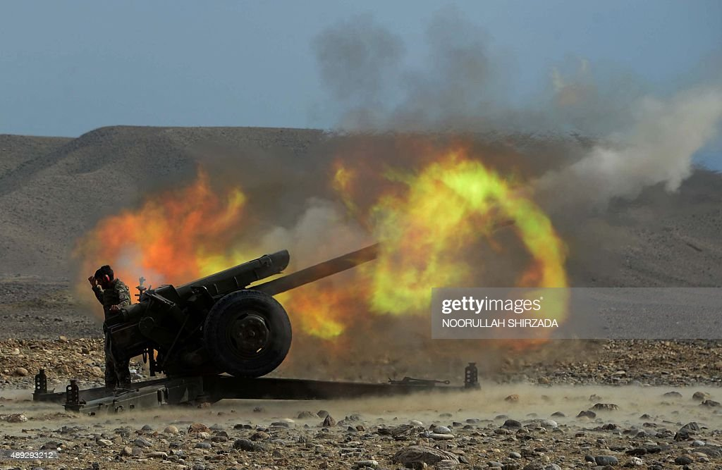 AFGHANISTAN-UNREST-ARMY : News Photo
