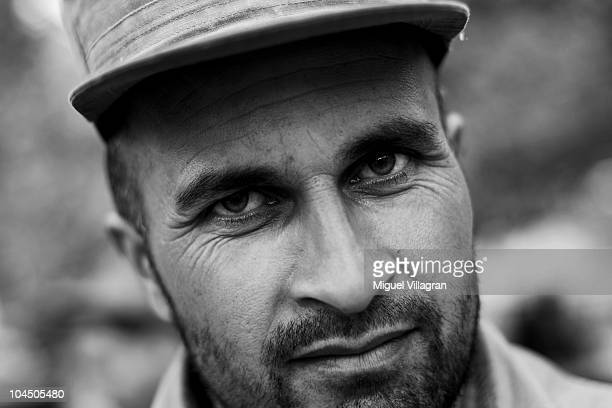 An Afghan policeman looks on at the local police headquarter on September 28 2010 in Balkh Afghanistan Germany has more than 4500 military forces in...