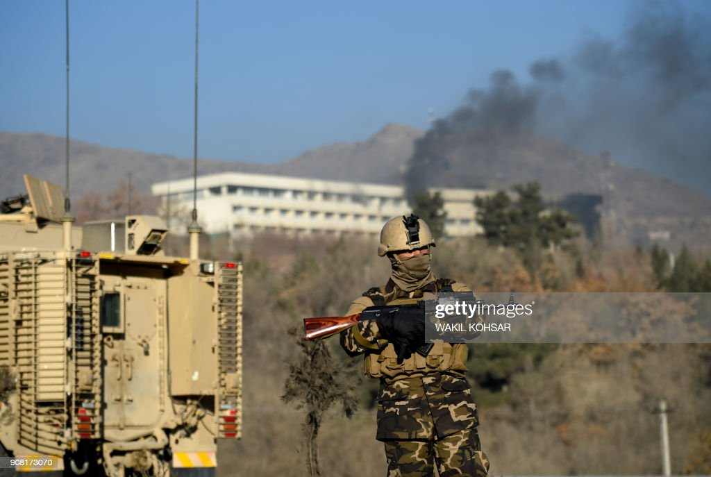 Gunmen Attack Intercontinental Hotel In Kabul