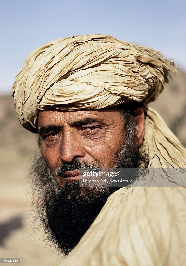 Afghan Shepherd: An Afghan Shepherd Outside The Gate To Forward Operating
