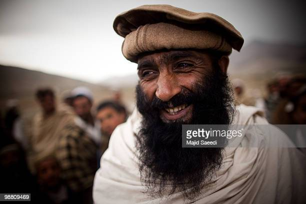 An Afghan tribesman from the Pashtun ethnic minority in an area south of Kabul on May 2 2010 in Afghanistan This migratory tribe base a large part of...