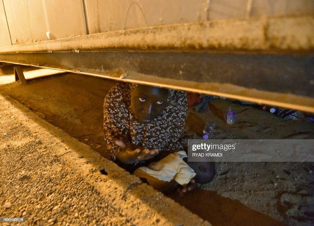 TOPSHOT-ALGERIA-NIGER-MIGRATION : News Photo