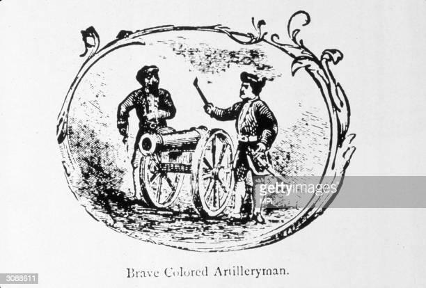 An AfricanAmerican artilleryman during the War of Independence