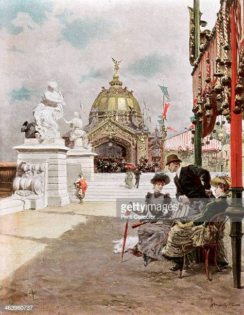 'An Afternoon at the Exhibition' 1889 The Exposition Universelle of 1889 was staged in commemration of the centenary of the French Revolution The...