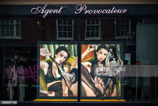 An Agent Provocateur store is displayed on February 16 2017 in London England Private equity firm 3i has been looking into options for the company...