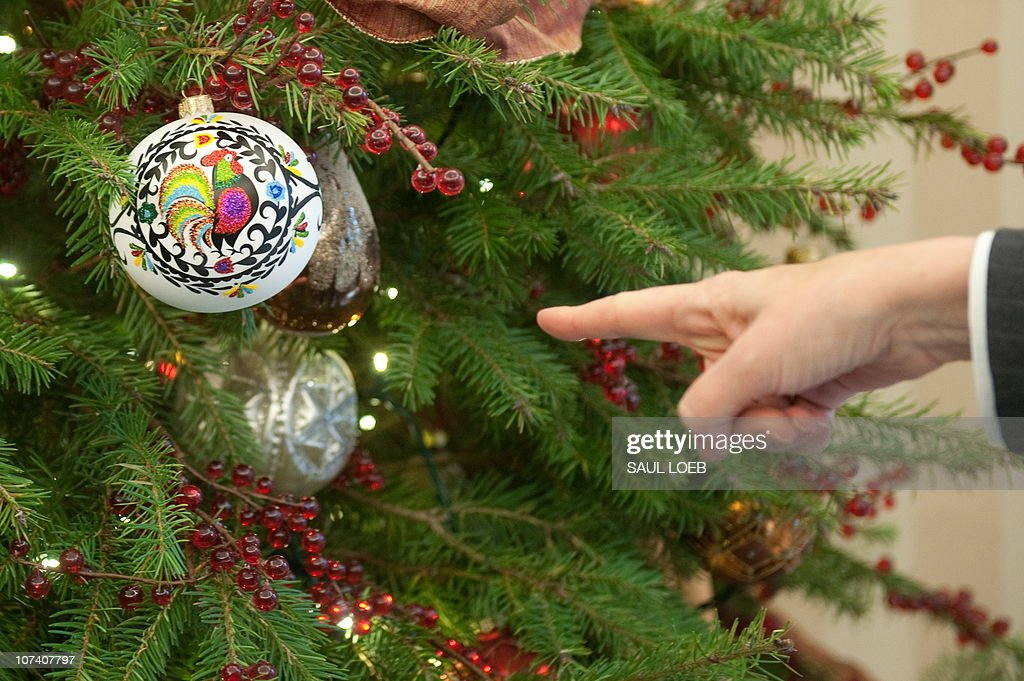 the office christmas ornaments. An Aide Points To A Christmas Ornament Hung On Oval Office Tree Given The Ornaments