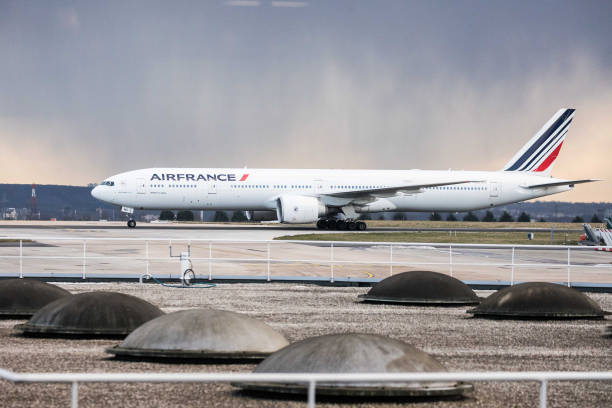 air france operations at charles de gaulle airport ahead of air
