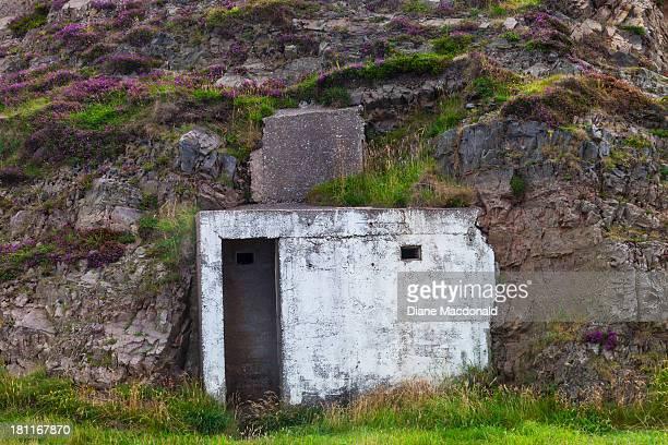 An air raid shelter