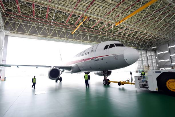 China's First Airplane Recycling Base Put Into Operation