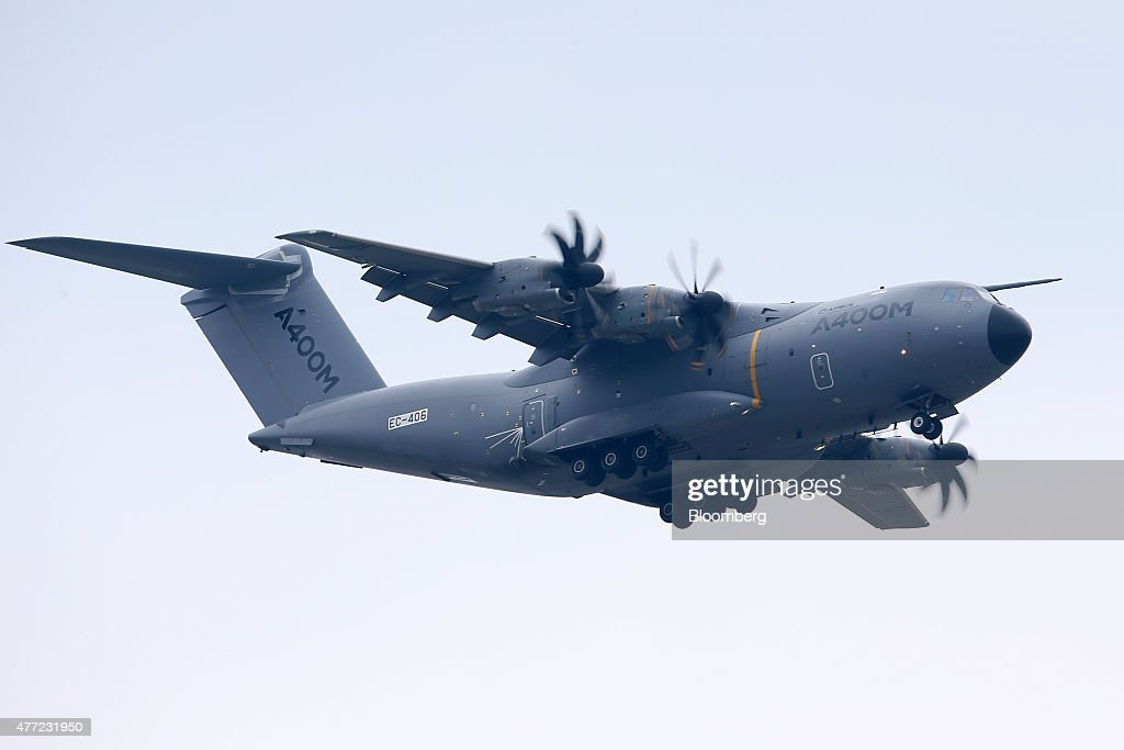 Opening Day Of The 51st International Paris Air Show : News Photo