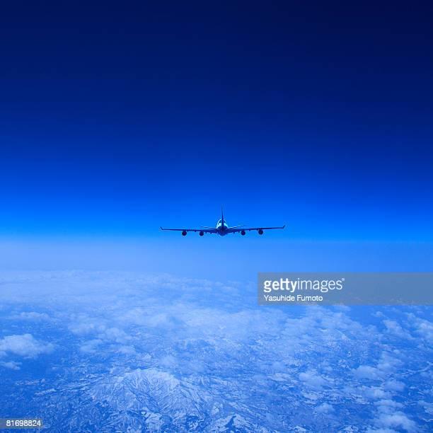 An airplane.