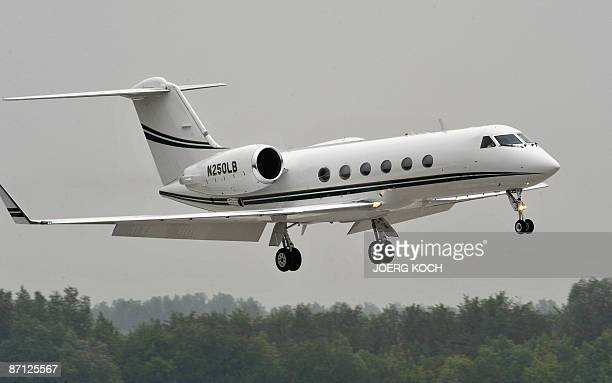 An airplane which is probably carrying former Nazi death camp guard John Demjanjuk lands on the airport in Munich on May 12 2009 Demjanjuk arrived in...