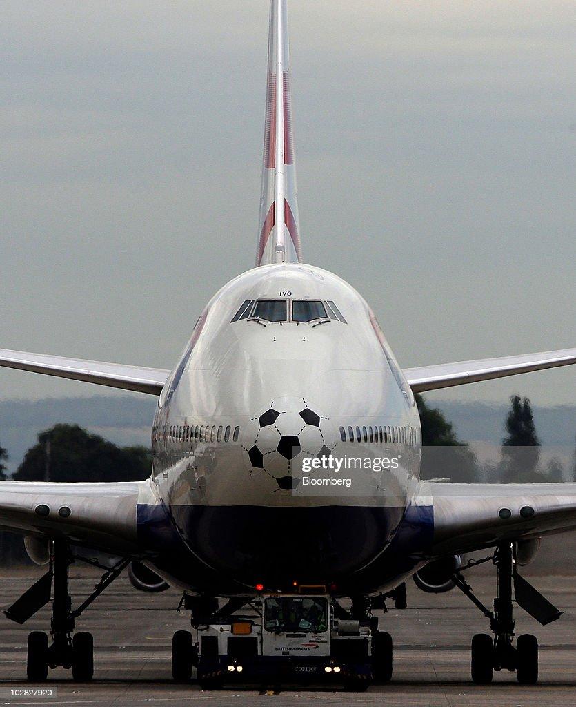 British Airways Aircraft Ahead Of AGM : News Photo