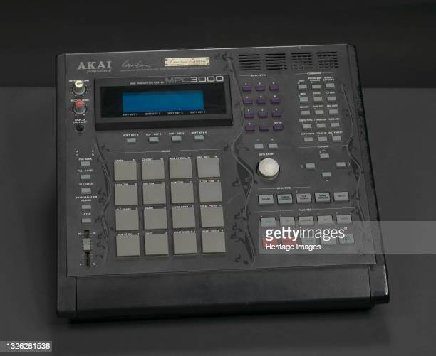 An AKAI MPC 3000 Limited Edition integrated rhythm machine, drum sampler, and midi sequencer used by record producer and artist J Dilla. The machine...