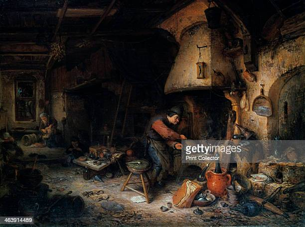 'An Alchemist' 1661The old belief that alchemists could turn base metals into silver and gold survived until the 18th century and other Dutch...