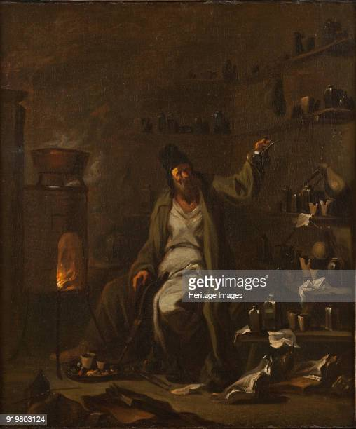 An Alchemist Found in the collection of Nationalmuseum Stockholm