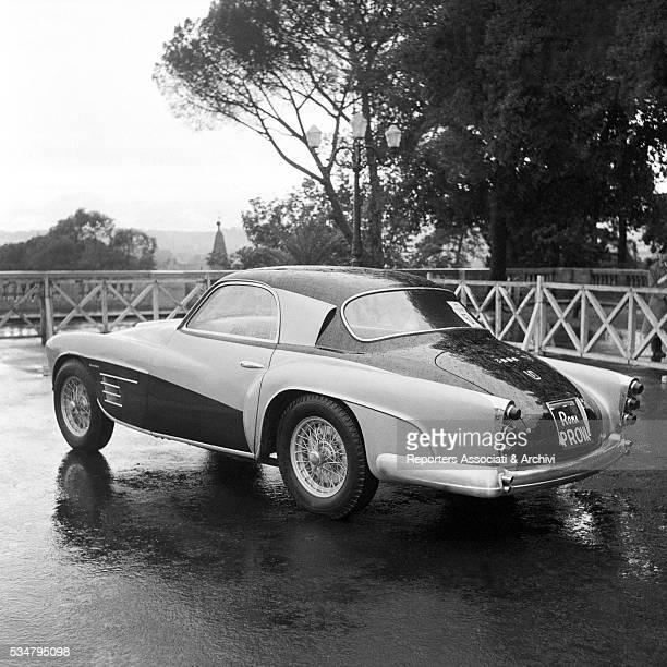 An Alfa Romeo attending to IX International Car Beauty Pageant Italy 1957