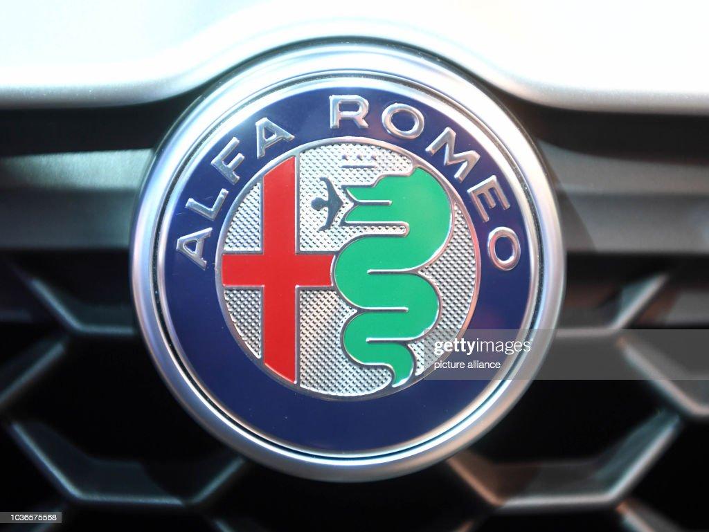 Paris Motor Show Pictures Getty Images Alfa Romeo Logo An Seen At The Mondial De Lautomobile