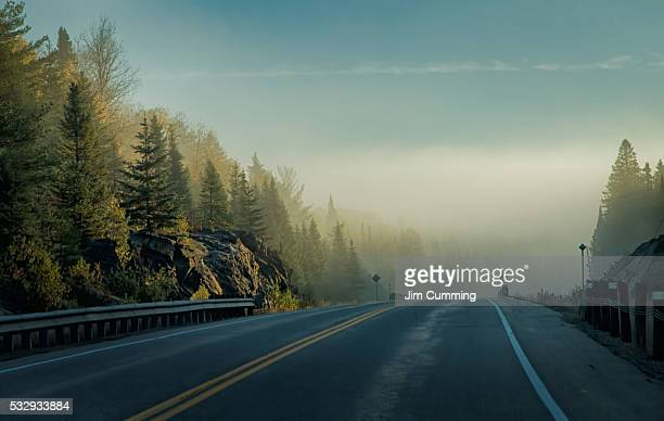an algonquin highway - ontario canada stock pictures, royalty-free photos & images