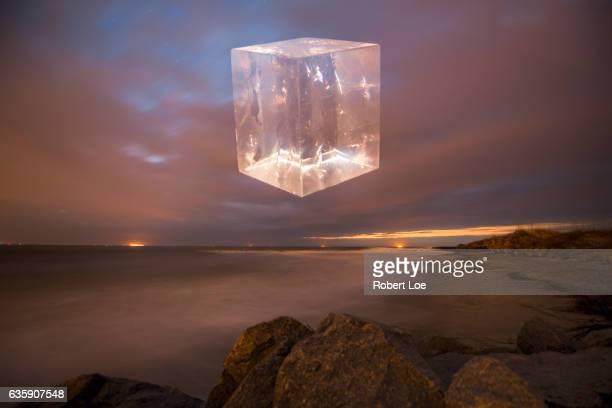 An Alien Space Craft Above Folly Beach